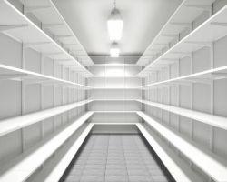 Elfa archiefruimte zonder inhoud