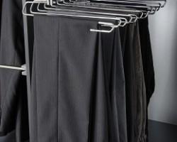 Inloopkast op maat-uittrekbaar-broekenrek