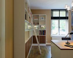 Nuvola boekenkast hoek met trap