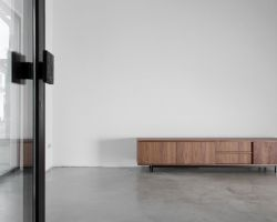 Nuvola sideboard noten fineer retro design