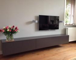 Nube tv-meubel grijs
