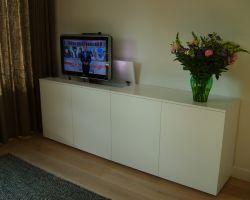 Nuvola tv-meubel met verzinkbare tv-ruimte